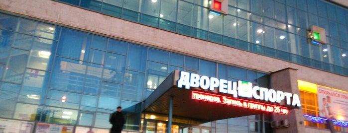 Бассейн «Москвич» is one of สถานที่ที่ Alex ถูกใจ.