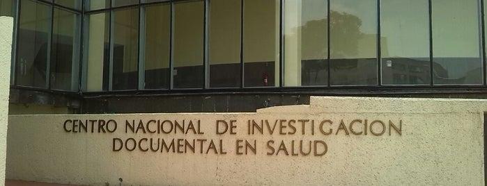 Centro nacional de investigación documental en salud is one of Locais curtidos por Israel.