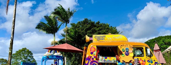 Coconut Glen's Ice Cream Stand is one of Hawaii Eats.