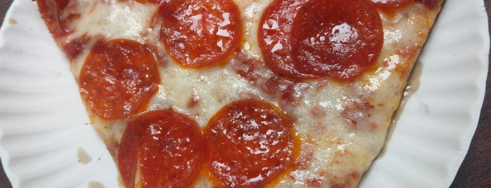 Justino's Pizzeria is one of USA NYC MAN FiDi.