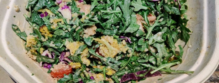 sweetgreen is one of Work lunch.
