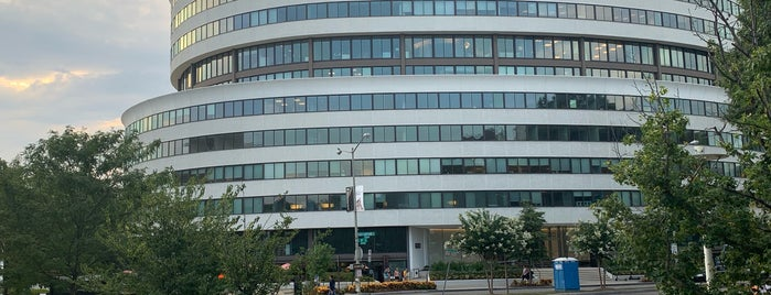 The Watergate Hotel is one of IWalked WashD.C.'s Foggy Bottom (Self-guided Tour).