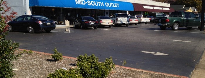 Mid-South Outlet is one of Memphis Thrift Stores.