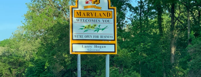 District of Columbia/Maryland Border is one of Arthur's places to visit.