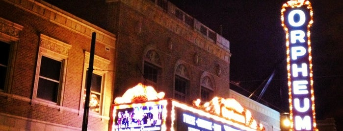 Orpheum Theater is one of Lugares guardados de Gordon.