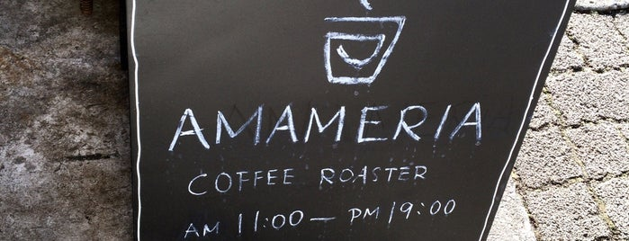 AMAMERIA COFFEE ROASTER is one of Places I Like.
