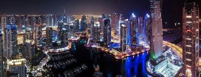 Dubai Marina is one of The Ultimate Guide to Dubai.