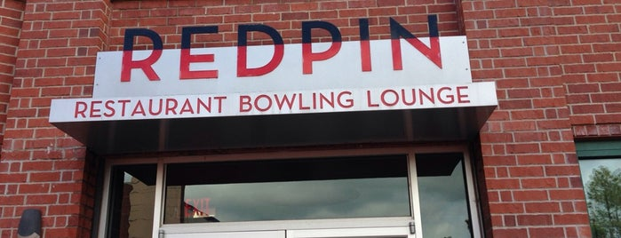 RedPin Restaurant & Bowling Lounge is one of Places To Go / Things To Do.
