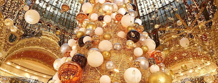 Galeries Lafayette Haussmann is one of PARIS.