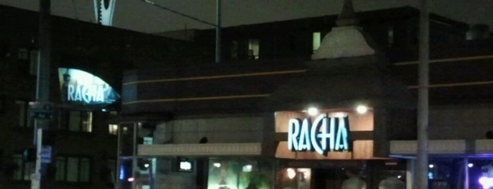 Racha Noodles & Thai Cuisine is one of Out with the old.