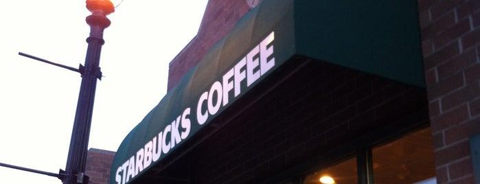 Starbucks is one of Martin : понравившиеся места.