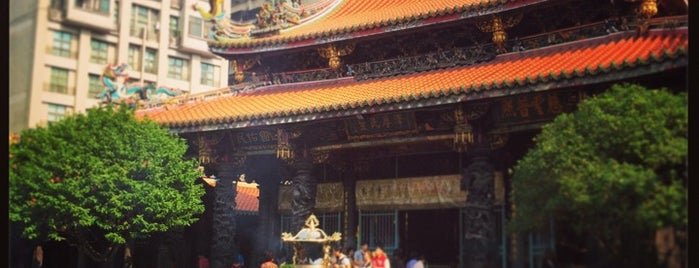 Longshan Temple is one of Taipei Tourist Spots.