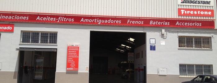 Neumaticos Los Remedios Firestone is one of Posti salvati di Bodegas.
