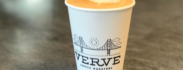 Verve Coffee Roasters is one of San Francisco Caffeine Crawl.