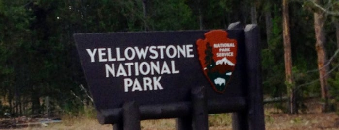 Yellowstone National Park (West Entrance) is one of National Parks.