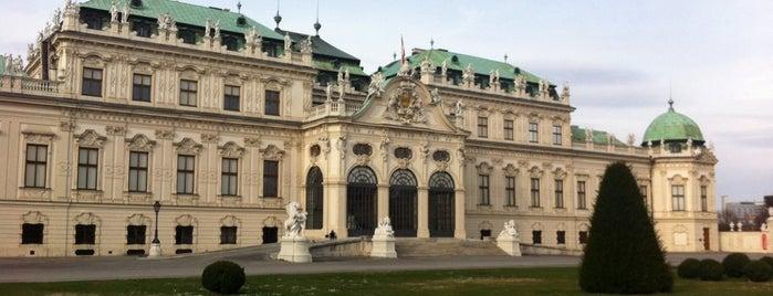 Oberes Belvedere is one of Museen.