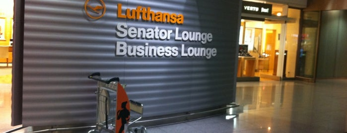 Lufthansa Senator Lounge (Non-Schengen) is one of Lugares favoritos de Gabriel.