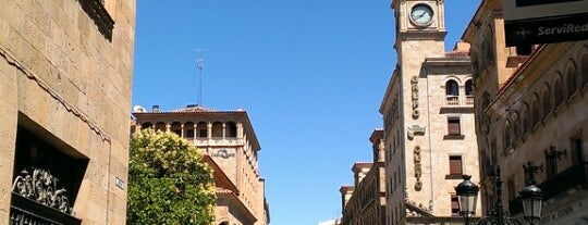 Calle Zamora is one of Pasear en Salamanca.