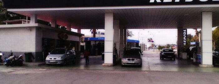 Gasolinera Repsol is one of reparto de prensa.