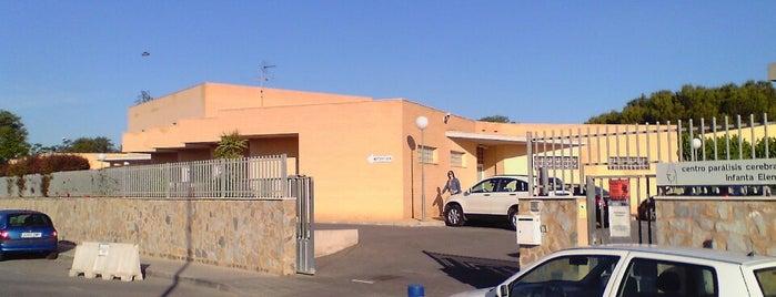 Centro de Parálisis Cerebral Infanta Elena is one of reparto de prensa.