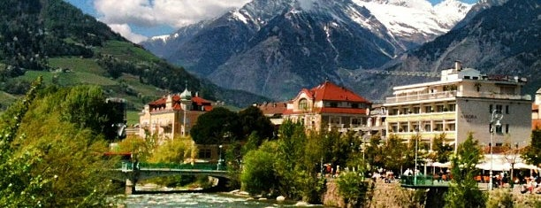 Merano is one of Alto Adige.