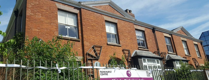 The Pankhurst Centre is one of Orte, die Louise gefallen.