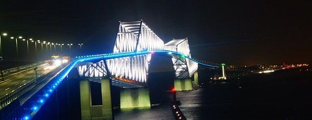 東京ゲートブリッジ 展望テラス is one of lieu a Tokyo 3.