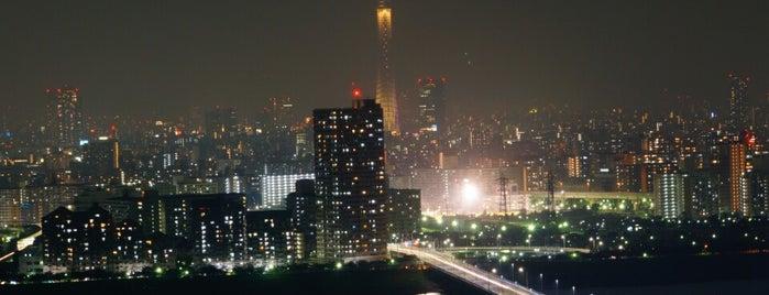 タワーホール船堀 is one of 日本夜景遺産.