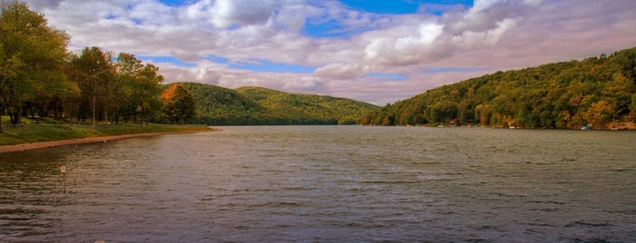 Squantz Pond State Park is one of Candlewood.