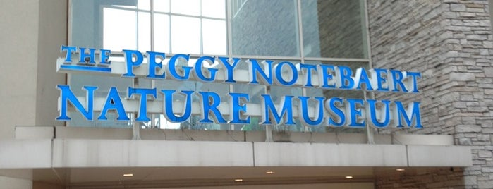 Peggy Notebaert Nature Museum is one of Chicago.