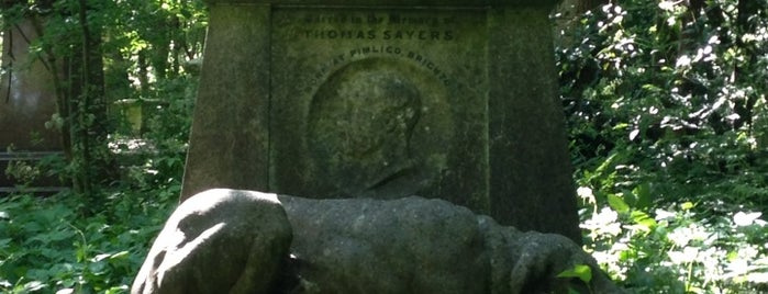 Highgate Cemetery is one of London heritage and sightseeing.