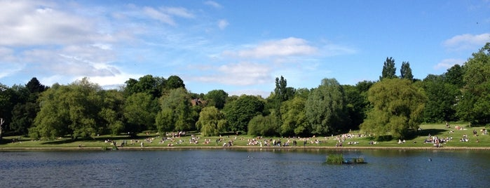 Hampstead Heath Ponds is one of blighty sights.