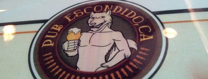 Pub Escondido, CA is one of Cerveja + Hamburguer RJ.