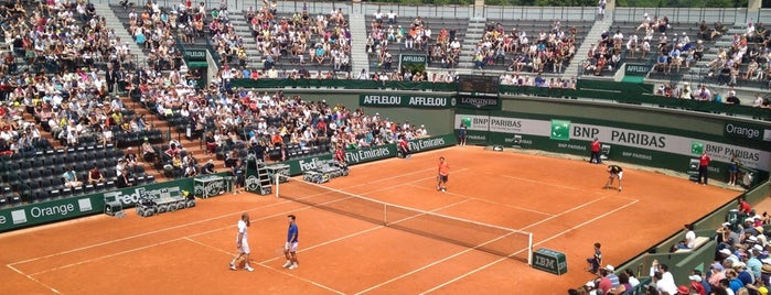 Stade Roland Garros is one of Visiting Paris.