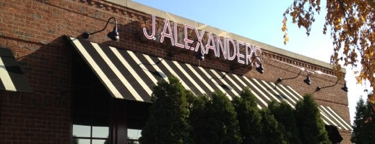 J Alexander's is one of Tempat yang Disimpan Gerry.