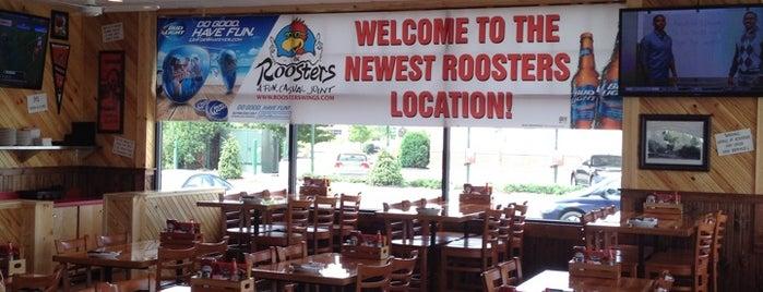 Rooster's is one of สถานที่ที่ Scott ถูกใจ.