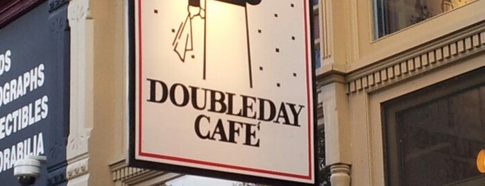 Doubleday Cafe is one of Posti salvati di Lizzie.