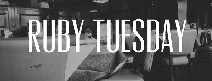 Ruby Tuesday is one of Bibi'nin Beğendiği Mekanlar.
