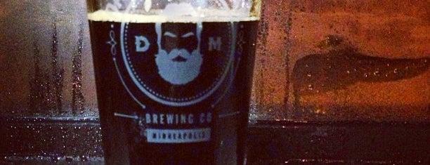Dangerous Man Brewing Co is one of Lieux qui ont plu à Erik.