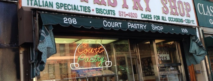 Court Pastry Shop is one of Cookie's Sweet On NY.