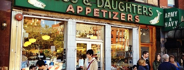 Russ & Daughters is one of Food Near the Venues.