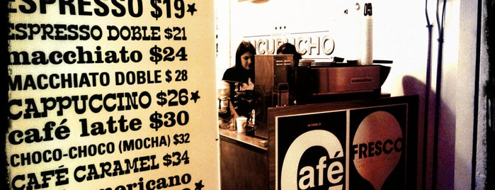 Cucurucho Café Condesa is one of Alanさんの保存済みスポット.