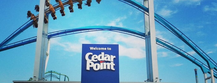 Cedar Point is one of Lieux sauvegardés par Andrew.