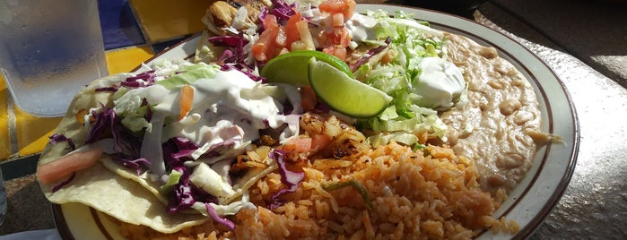 Toni's Mexican food is one of Lake Arrowhead.