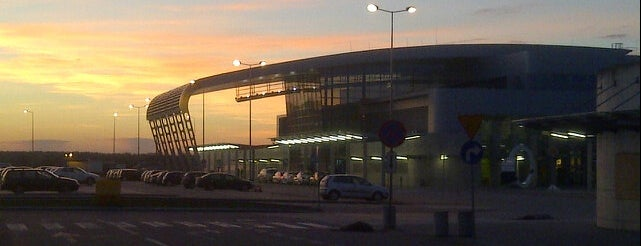 Poznań Airport is one of visited airports.