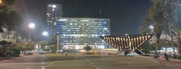 Rabin Square is one of Shabbat Shalom.
