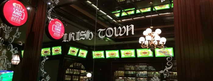 Irish Town The Pub is one of Ankara'nın Kaliteli Mekanları.