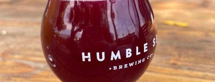 Humble Sea Brewing Co. is one of Santa Cruz.