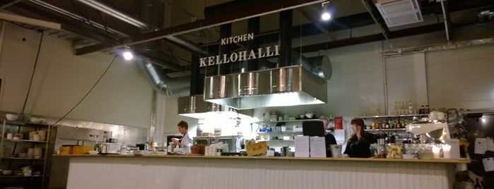 Kellohalli is one of Best restaurants & cafe's in Helsinki.