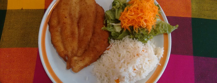 La Jarochita is one of comida.
